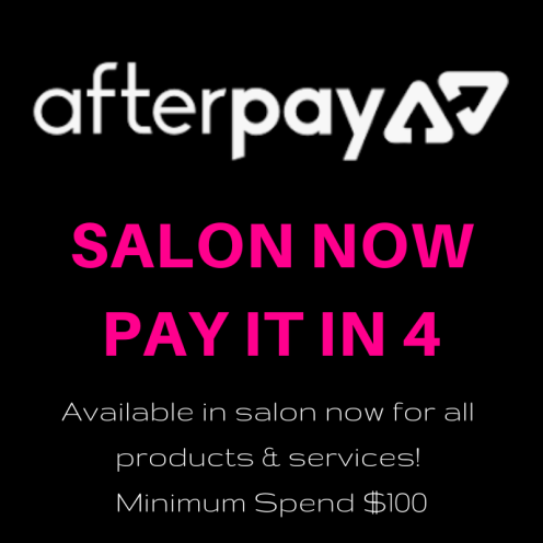 SALON NOW PAY IT IN 4