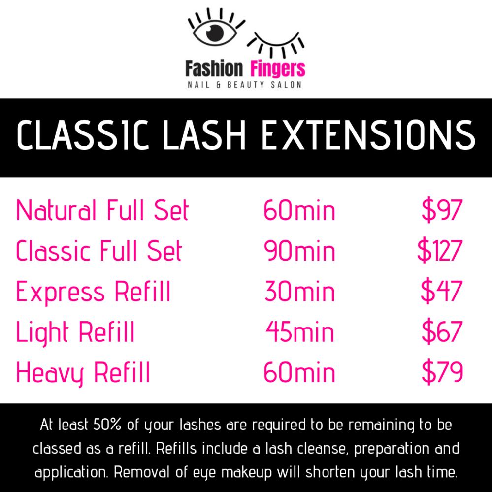 CLASSIC LASH EXTENSIONS